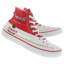 ANDY WARHOL | CONVERSE Chuck Taylor CAMPBELLS high tops | Men's 12 | New in box