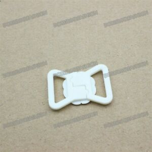 14mm clip Clasp Plastic Hook Bra Strap fastener Swimwear Lingerie Buckles 10pcs