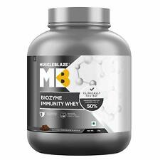 MuscleBlaze Biozyme Immunity Whey, Rich Milk Chocolate, 2 kg (Fast Shipping)