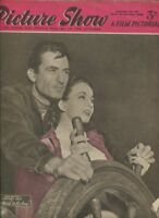 Picture Show and Film Pictorial September 27,1952 Ann Blyth Gregory Peck