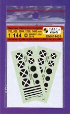 Mark I décalques 1/144 Espagnol NATIONALISTE insignes (2 ensembles) #14433