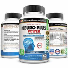 Brain Boost for Memory, Sharp Mind, Focus, Clarity, Concentration and Alertness.