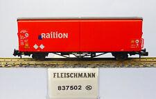 Fleischmann N 837502; Schiebewandwagen Railion DB, unbespielt in OVP /J294