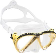 Cressi LINCE Scuba Diving, Snorkeling and Freediving Mask (Small/Narrow Faces)