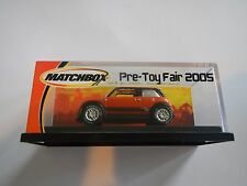 Matchbox Mini Cooper Pre-Toy Fair 2005
