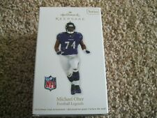 Michael Oher -  2012 Hallmark NFL Football Ornament - Baltimore Ravens - 18th