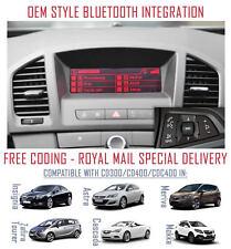 Vauxhall Astra J Retrofit OEM Upgrade Bluetooth for CD300 & CD400 Headunits A2DP