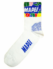Brand new Team Mapei  cycling team socks, Italian made Retro Colnago C40