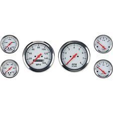 Speedway 6 Gauge Set With Tach 3 38 Mechanical Speedometer 2 116 Gauges