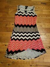 NWT Women's DESIGN HISTORY Thyme Combo Stripe Sleeveless Stretchy Dress XL $107