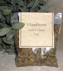 Hawthorn Leaf & Flower  Crataegus species Cut & Sifted  Herb 1 oz
