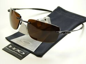 Oakley Why 8.2 Black Bronze Sonnenbrille Spike Square Wire Nanowire Conductor 3