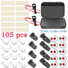 for Gopro Hero 2 3 4B Motion camera Accessories Set Kit Safety buckle +big bag