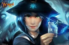 2014 KINGSISLE WIZARD101 VIDEO GAME CARD POSTER 34X22 NEW FREE SHIPPING