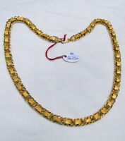Gold chain 22K Gold chain necklace link chain jewelry 498-013