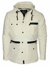 Men's Polyester Other Button Hooded Coats & Jackets