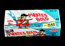 Pirates Bold 1961 Fleer Display Box 5x7 color photo