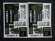 Monster Energy/Yamaha Aufkleber