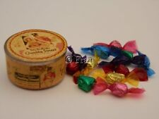 Dolls house food: Vintage style tin of quality street chocolates -By Fran