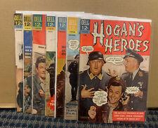 1966 HOGAN'S HEROES Comics, Silver Age, Dell #1-2-3-4-5-7-8 (C955)