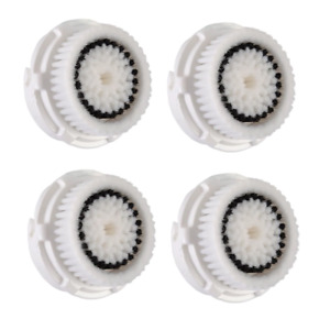 4-Pack Sensitive Replacement Facial Brush Heads For Clarisonic Mia 1 Mia2