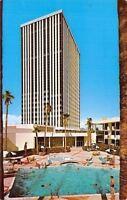 Phoenix Arizona~Del Webb's Townhouse~Swimming Pool~1950s Postcard