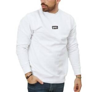 Camisetas Hombre  VANS CRATCHED CREW COLOR BLANCO WHITE