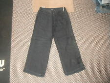 "Mexx Loose Jeans Size 12 Leg 29"" Black Faded Ladies Jeans"