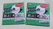 Fast Patch-Hole &Crack Repair for walls & ceiling you get 2 (two)packs FreePost