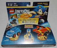 LEGO Dimensions SONIC THE HEDGEHOG Level Pack 71244 Sonic Speedster The Tornado