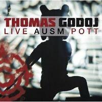"THOMAS GODOJ ""LIVE AUSM POTT"" 2 CD NEU"