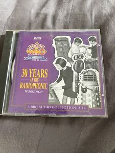 DOCTOR WHO 30 Years at the Radiophonic Workshop Audio CD BBC dr