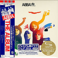ABBA-THE ALBUM-JAPAN MINI LP SHM-CD BONUS TRACK Ltd/Ed G00