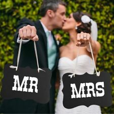 Mr And Mrs Hanging Chair Signs Photo Prop Booth Props Wedding Decorations Decor