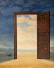 René Magritte, L'embellie 1962, Hand Signed Lithograph