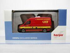Herpa 936316 1:87 MB Sprinter Feuerwehr Dortmund Intermodellbau 2019 NEU/OVP