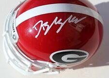 Dominick Blaylock Signed Georgia Bulldogs Mini Football Helmet W/COA C