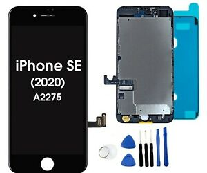 LCD Screen Replacement for iPhone SE 2020 Digitizer Touch Assembly with Tools