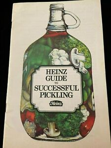Vintage 1976 Heinz Guide To Successful Pickling Promo Recipe Booklet Pamphlet