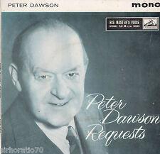 PETER DAWSON Requests EP  Mono 1950s