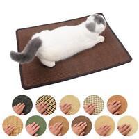 Pet Cat Kitten Scratch Scratching Board Post Claws Sisal Hemp Mat Pad Healthy