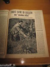 RIVISTA EPOCA 1953/168=SAN PAOLO BELSITO BIFULCO=CLIPPING=ARTICOLO FOTO=