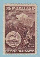 NEW ZEALAND 91  MINT HINGED OG * NO FAULTS VERY FINE!