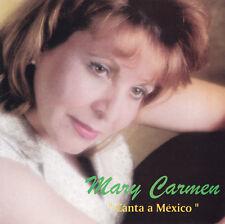 """MARY CARMEN - CD - """" CANTA A MEXICO """""""