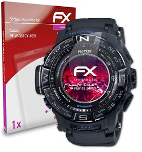 atFoliX Glass Protector for Casio PRW-3510Y-1ER 9H Hybrid-Glass