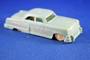 Plasticville - O-O27 - #V-6 - 1 Original vintage Auto - HTF Color - Turquoise