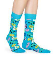 Happy Socks - Pool Party Socken Strümpfe, - hellblau / bunt - 36-40 + 41-46