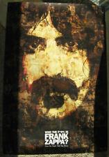 "FRANK ZAPPA poster 27"" x 39"" Who The F*@% Is Frank Zappa? Kickstarter new 2017"