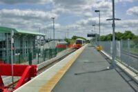 PHOTO  AYLESBURY VALE PARKWAY RAILWAY STATION BUCKS 2011 MET. & GCR MA V2