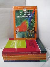 LEYENDAS Y CUENTOS IBEROAMERICANOS Graded Spanish Literature Libros en Espanol